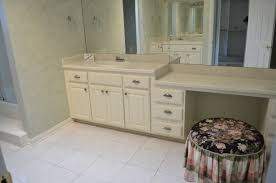 bathroom picture of vanity with makeup table unique