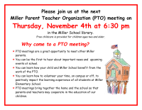 Pta Elections Flyer Pto Meeting Flyer Color Pto Today