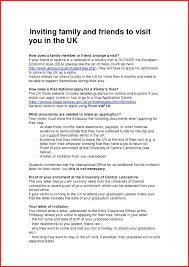 Visa Sponsorship Letter Resume Template