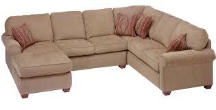 Flexsteel Thornton 3 Piece Sectional with Chaise AHFA Sofa