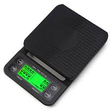 Tare Offs Outry Coffee Scale With Timer High Accuracy Kitchen Food Scale With Tare Function 6 6lb 3kg Max Load 0 1g Precision Sensor Batteries Included