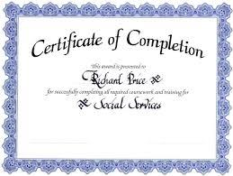 Free Template Certificate Template Word Template Certificate 6