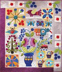 Sue Spargo. Folk Art Quilt Quilting Ribbons Supplies Hand Dyed ... & Folk Art Quilt Quilting Ribbons Supplies Hand Dyed Velvet Wool Electric  Quilt CD Adamdwight.com