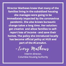 Congratulations Ivory Williams Mathews💥🎉💥 - Columbia Housing Authority  SC | Facebook