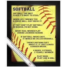 Softball Softball Gifts Shirts And Poster Prints