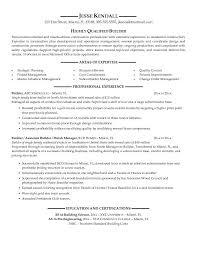 Builder Resume Sample Experience Resumes