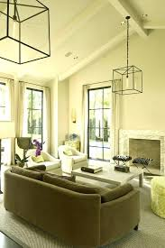 vaulted ceiling chandelier cathedral lighting track bedroom recessed uk living room ideas on g