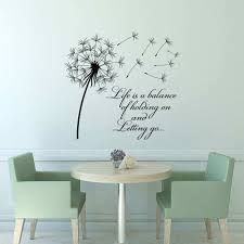 dandelion wall art awesome dandelion wall decal e life is a balance holding of dandelion wall art marvelous dandelion wall decal