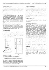 Small Picture Analysis and design of reinforced concrete stepped cantilever retaini