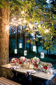 Decorating Outside Tree With Lights 25 Backyard Lighting Ideas How To Hang Outdoor String Lights