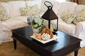ideas with stylish black rectangle industrial laminated wood coffee table centerpiece