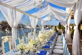 table setting at suzanne s catering humbolt island huntington beach bridal shower