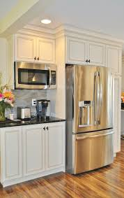 wall mount microwave contemporary mounted kitchen sampler kitchens house inside 9