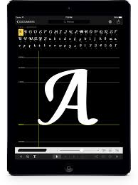 Font Design Editor Ifontmaker Create Your Font In 5 Minutes On Your Ipad