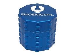 phoenician grinder medium. medium 4pc grinder - ocean blue phoenician n