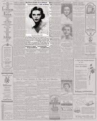 Miss Rosanne Wigham, Recent Debutante, Fiancee of Nicholas C. Jenks, an  Attorney - The New York Times
