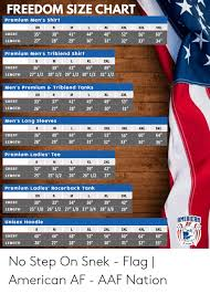 Freedom Size Chart Premium Mens Shirt Xl 3xl Xs 35 38 41 44