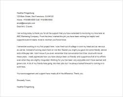 Thank You Letters To Boss Thank You Letter To Boss 9 Free Word Excel Pdf Format