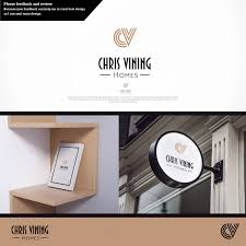 Estate Agent Cv Modern Professional Real Estate Agent Logo Design For Chris Vining