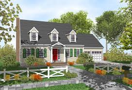 Cape Cod House Plans  Winchester 30003  Associated DesignsCape Cod Home Plans