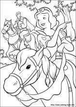 Small Picture Snow White coloring pages on Coloring Bookinfo
