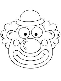 Clowntje Piet Karneval Maskeler Okul Ve Okul öncesi