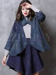 Outwear | Jackets/Coats | Vintage <b>Three Quarters Sleeve Hollow</b> Out ...
