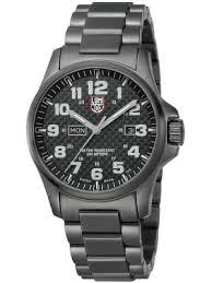 mens military watches creative watch co luminox men s 1920 series field atacarma 45mm all black watch