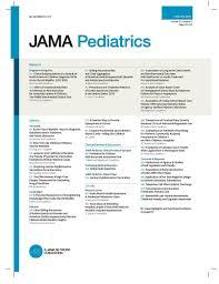 Jama Pediatrics Wikipedia