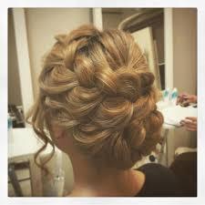 Hairsetsalonmint Hair Set Salon Mint 編み込みアップ ヘア
