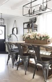 cozy spring home tour part 2 metal farmhousefarmhouse dining roommodern