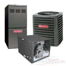 goodman ac unit. goodman 2 ton 13 seer 80% afue gas furnace and air conditioner system - horizontal ac unit