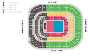 Uk Football Seating Chart Principality Stadium Cardiff