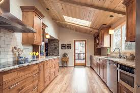 mountain modern furniture. We Exposed The Shed Roof On This Galley Kitchen And Highlighted It With Beetle Kill Pine Mountain Modern Furniture
