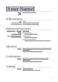 Free Printable Resume Templates Microsoft Word Unique Printable Resume Template Blank Free Printable Resume Templates