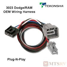 Tekonsha Brake Control Harness Fit Charts Details About Tekonsha 3023 Oem Wire Harness Fits P3 P2 Primus Iq Plug N Play Brake Control