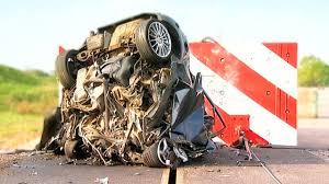 120mph Mega Crash! - Fifth Gear - YouTube