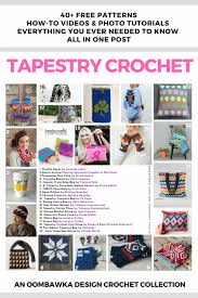 Tapestry Charts Free The Big Tapestry Crochet Post Free Patterns Tutorials And