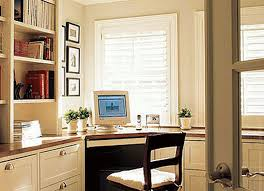 design a home office. for your home office, it\u0027s best to choose window treatments that allow you incrementally filter the light. this will let minimize sunlight when design a office