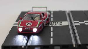 Slot Car Led Lights Carrera Digital Slot Car Light Control Demonstration By Www Slotcar Co Nz