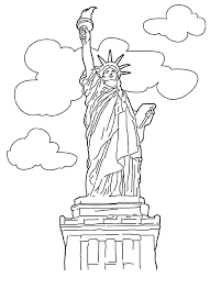 Small Picture Fancy Statue Of Liberty Coloring Page 22 On Free Colouring Pages