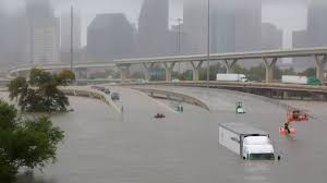 Image result for hurricane harvey flood downtown houston photos