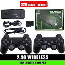 Game Stick Máy chơi trò chơi trẻ em ps3000 4K Ultra Hd TV - HDMI - Máy chơi  game không dây -Phiên bản cao cấp nhất - Video games