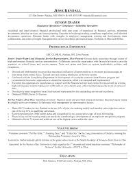 Proprietary Trading Resume Sample Resumecareer Info For Ideas