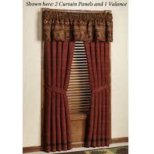 red grommet blackout curtain panels