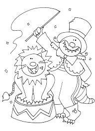 brilliant circus coloring pages | dokardokarz.net