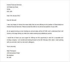 50 Job Acceptance Letter Sample Uk Optional – Yierdaddc.info