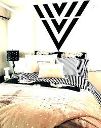 Black White And Gold Bedroom Ideas Set Decor Dorm Room – Decor House ...