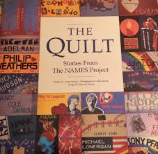 HIV/AIDS and The NAMES Project Quilt in the 80's & Names project book Adamdwight.com