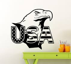 online buy wholesale usa wall stickers from china usa wall